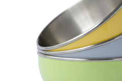 bowlar pastell Arkivbilder