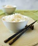 bowlar rice två royaltyfri foto