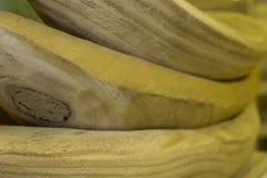 bowlar trä Arkivfoto