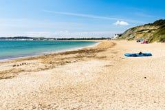Bowleaze小海湾多西特英国 免版税库存图片