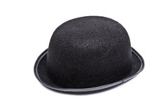 Bowler hat isolated on white Stock Photos