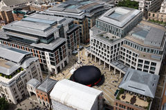 Bowler hat at Paternoster Square, London, Uk Royalty Free Stock Photography