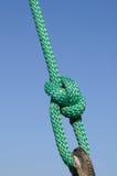 bowline πράσινο Στοκ εικόνα με δικαίωμα ελεύθερης χρήσης