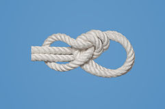 Bowline on Bight Royalty Free Stock Photos