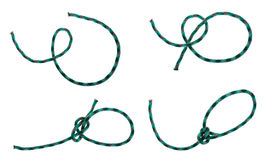 Bowline knot Stock Photography