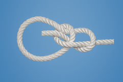 Bowline Knot Stock Photos