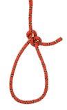 Bowline rope stock photo