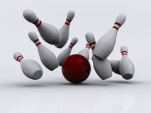 Bowling 1 Royalty Free Stock Photography