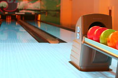 Bowling Royalty Free Stock Photo