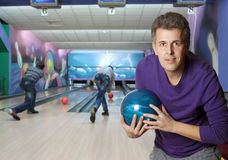 bowling Royaltyfri Bild