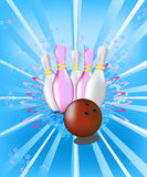 Bowling Imagens de Stock Royalty Free