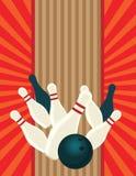 bowling Arkivfoto