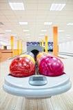 bowling royaltyfri fotografi