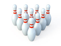 Bowling royalty free illustration
