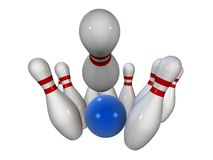 Bowling Royalty Free Stock Photography