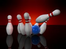 bowling stock illustrationer