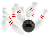 Bowling royalty illustrazione gratis