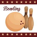 bowling Fotos de archivo libres de regalías