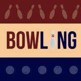 bowling Foto de Stock Royalty Free