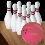 bowling Photographie stock