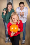 bowling Photos libres de droits