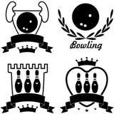 bowling Fotografie Stock
