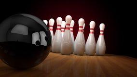bowling Fotografía de archivo libre de regalías