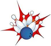 bowling Fotografia de Stock Royalty Free