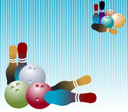 bowling Arkivbild