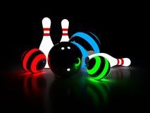 bowling ilustración del vector