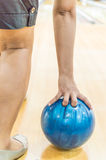 Bowling alley. Stock Images