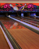 Bowling Alleys Stock Photo
