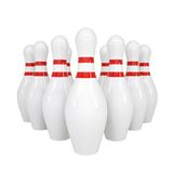 Bowling alleys Stock Image