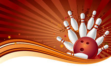 Free Bowling Background Stock Photography - 15754762