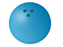 Bowling Ball Illustration Royalty Free Stock Photo