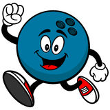Bowling Ball Running Royalty Free Stock Photos