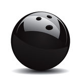 Bowling Ball Set 1. Vector Drawing Royalty Free Illustration