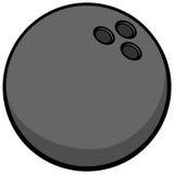 Bowling Ball Symbol Illustration Royalty Free Stock Image