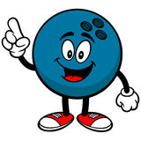 Bowling Ball Talking Stock Photo