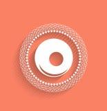 Bowling ball vector icon modern flat icon Stock Photo