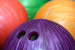 Free Bowling Balls Royalty Free Stock Photography - 9678807