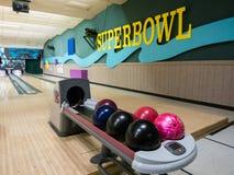 Bowling balls Stock Image