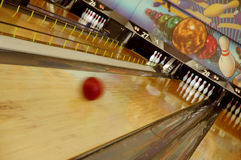 Bowling Blur Stock Photography
