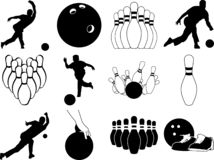 Bowling bundle vector eps illustration by crafteroks vector illustration