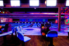 Bowling center Stock Photo