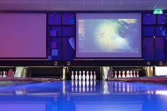 Bowling center Stock Photography
