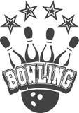 Bowling club emblem Stock Photos