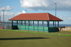 Bowling club shelter Stock Image