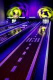 Bowling coloré Photos libres de droits