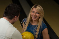 Bowling de enseignement Photos stock
